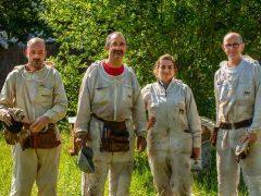 Nouvelle équipe d'apiculteurs