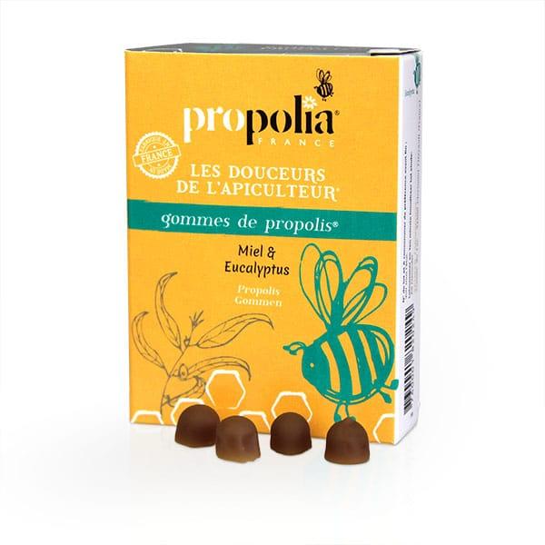 Propolis, Gommes Miel Eucalyptus