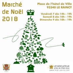 Marché de Noël Le Raincy
