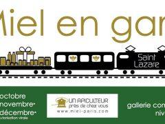 Miel Paris revient en gare St Lazare