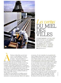 Marie France Nov 2011 - Les vertus du Miel des Villes