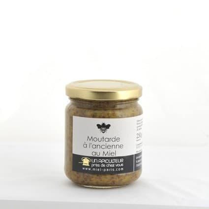 Moutarde à l'ancienne au miel