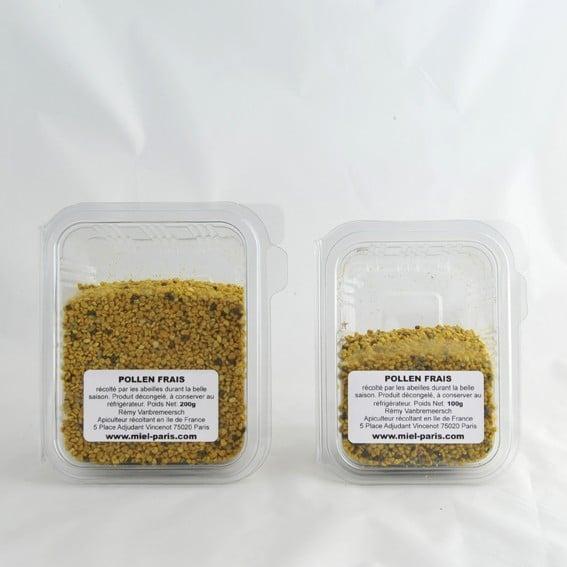 Pollen frais de ciste