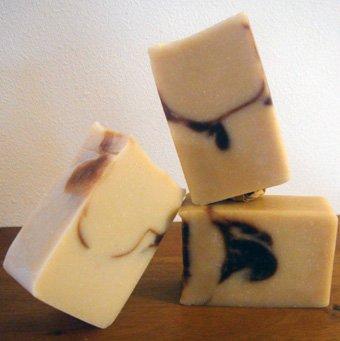 Savon àfroid miel karité lait coco