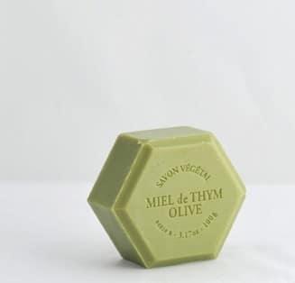 Savon végétal Miel de Thym et Olive