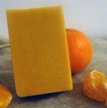 Savon à froid miel orange
